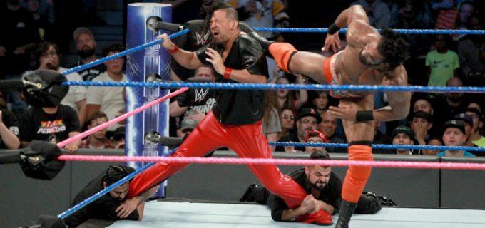 【WWE】<スマックダウン>王者マハルが中邑に奇襲攻撃!「ヘル・イン・ア・セル」で日本人初のWWE王座獲得なるか?