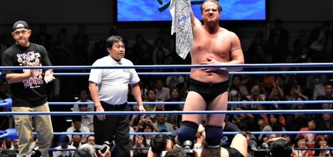 【全日本プロレス】ド迫力の肉弾戦はジョー・ドーリングが石川修司に競り勝つ!ジョーが復帰後初の三冠に挑戦!!(写真多数)