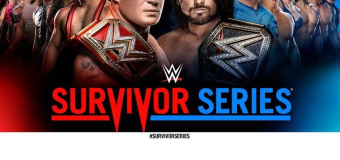 【WWE】<PPVサバイバーシリーズ>ロウとスマックダウンのブランドの垣根を越え、王者対王者の対決が実現!マハルを制し新WWE王者となったAJスタイルズがWWEユニバーサル王者レスナーと対戦。11/20(月)朝9時〜WWEネットワークで独占ライブ配信!