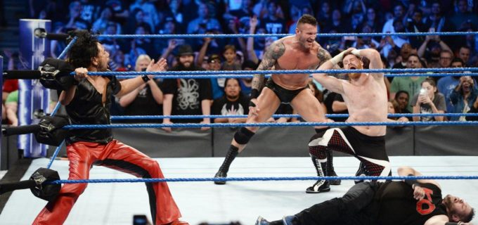【WWE】中邑がオートンを救出!PPV「クラッシュ・オブ・チャンピオン」タッグ戦へ