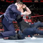 【WWE】<RAW25周年記念大会>スティーブ・オースチンがビンス・マクマホンを襲撃!