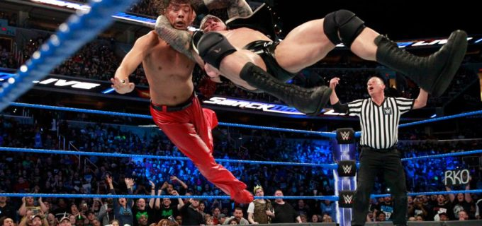 【WWE】中邑、オートン乱入でノーコンテスト