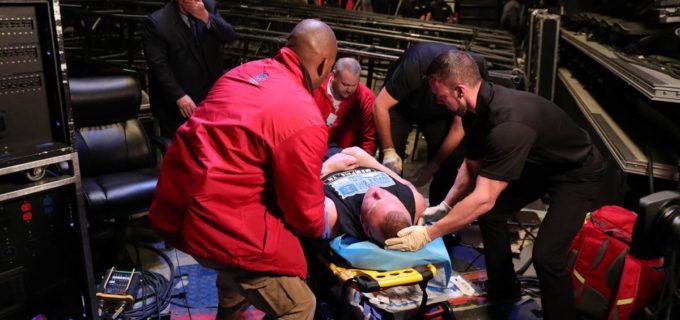 【WWE】ストローマンがレスナーを病院送り!!