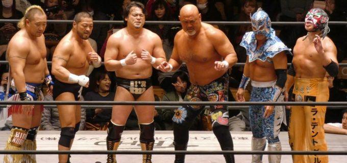 【WRESTLE-1】カズ・ハヤシ25周年記念試合は武藤敬司のシャイニングウィザードに敗れるも『若い選手ががんばっていますが、僕も驀進していきます!(カズ)』〈1.8後楽園〉