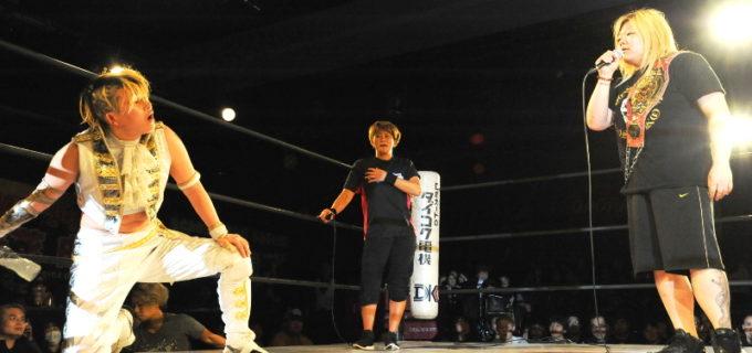 【OZアカデミー女子プロレス】2.18 新宿FACE大会にてOZアカデミー認定無差別級選手権〈王者〉世志琥 vs〈挑戦者〉AKINOが決定!