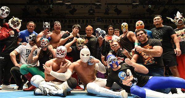 """【新日本プロレス】""""ルチャの祭典""""は今年も熱狂の大団円!!  灼熱の「CMLL兄弟タッグトーナメント」を制したのはゲレーロス!"""