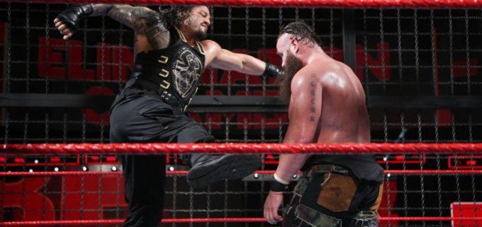 【WWE】エリミネーション・チェンバー戦を制したレインズはPPV「レッスルマニア34」でレスナーのユニバーサル王者に挑戦することが決定!!