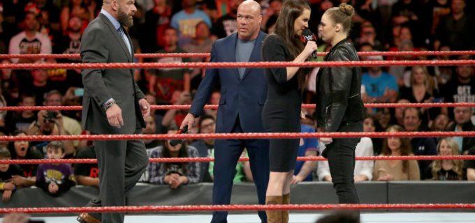 【WWE】ロンダ、ステファニーに謝罪要求