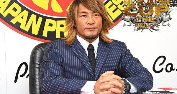 """【新日本プロレス】""""攻めのリハビリ""""で棚橋弘至が復帰宣言!『NEW JAPAN CUP』出場へ!1回戦のタイチには「付き合うつもりはない!」"""
