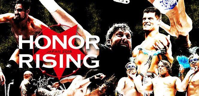 【新日本プロレス】<明日から後楽園ホール2連戦!> ROH勢が大挙上陸! ケニーと飯伏が再合体! 『HONOR RISING:JAPAN 2018』特設サイトはコチラから!