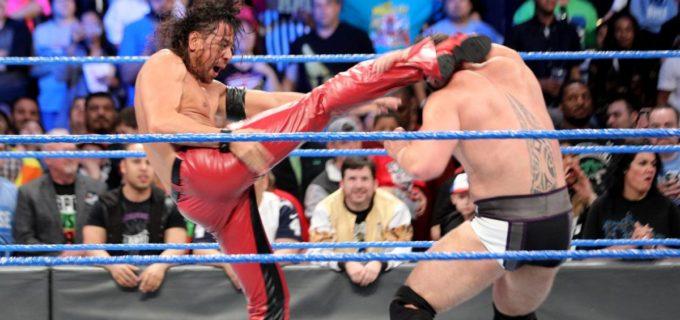 【WWE】中邑真輔がルセフに快勝、AJスタイルズにレッスルマニアでのキンシャサ勝利宣言