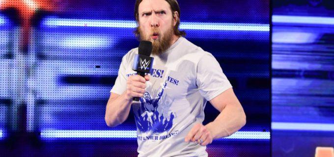 【WWE】電撃復帰を発表したダニエル・ブライアンGMが、レッスルマニア出場を宣言!