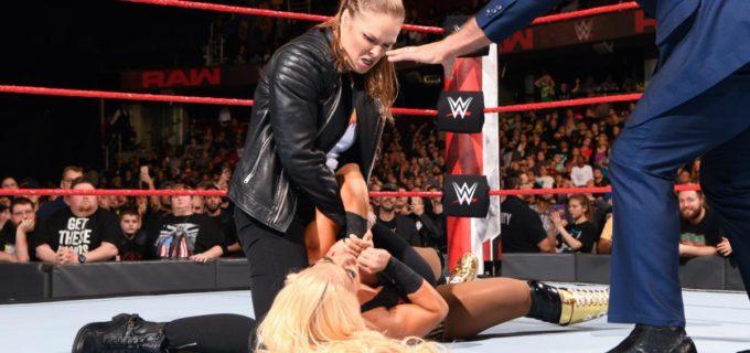 【WWE】ロンダ・ラウジーが本気モードを披露!