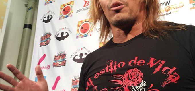 【新日本プロレス】TAKAみちのくがまたもや挑発マイク! バックステージの内藤は「それでいいのか? ザック・セイバーJr.!」