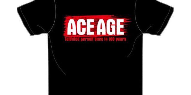 【プレゼント】棚橋弘至選手のサイン入り「ACE AGE」Tシャツ&「ざっくぅ」ストレスリリーサーが当たる!