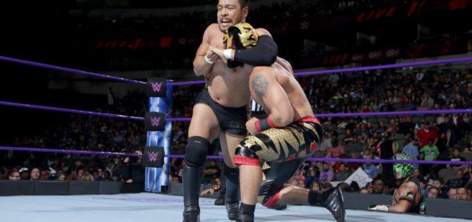 【WWE】ヒデオ、因縁のリンセ・ドラドと対戦も不完全決着
