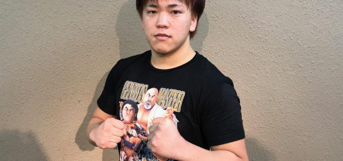 【Pro-wrestling ACE】4.1東京・GENスポーツパレス大会にて同じ総合学院4期生、プロレスリングZERO1の北村彰基選手と闘う馬場拓海選手インタビュー!