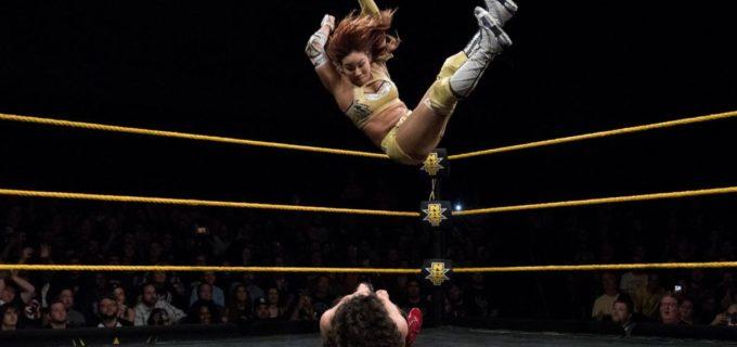 【WWE】<NXT>カイリ、インセインエルボーで快勝!
