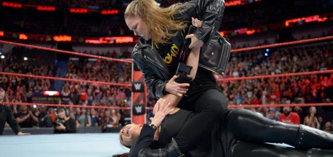 【WWE】ロンダ・ラウジー、再びステファニーに腕十字