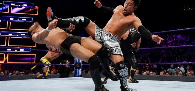 【WWE】ヒデオ&戸澤組、雪辱ならず誤爆で敗戦