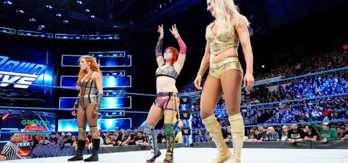 【WWE】アスカ、スマックダウン移籍でシャーロット救出