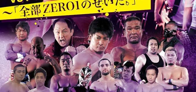 【プロレスリングZERO1】4.27(金)東京・吉祥寺Club SEATAで開催のロックとプロレスの融合イベント「ZEROCKS Vol.2」全対戦カード決定!