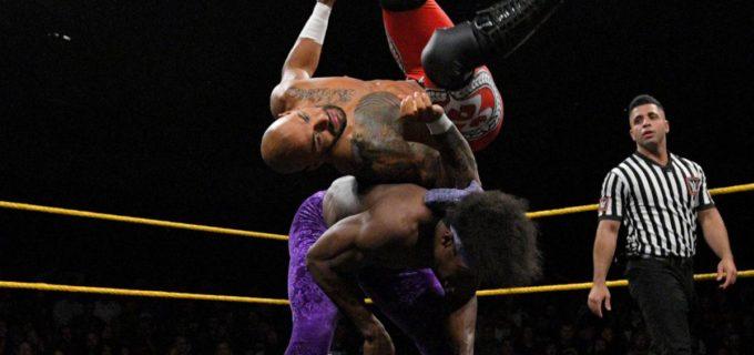 【WWE】<NXT>リコシェ、次期王座挑戦権の獲得ならず!