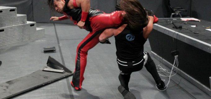 【WWE】中邑、AJスタイルズとの王座戦はラストマンスタンディング(KOでのみ勝敗が決するこの試合形式)で、両者の因縁は完全決着となるか!?