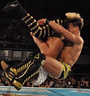 【新日本プロレス】渾身のショックアローが炸裂!! SHOがデスペラードに値千金の逆転勝利! 5.25「SUPER Jr.」大阪大会