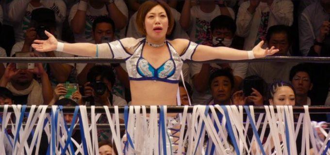 【プロレスリングWAVE】飯田美花が仲間に見送られ引退!「私はまわりに恵まれたなと思っています。辛いこと以上にまわりに幸せにしてもらいました。」<5.4後楽園大会>