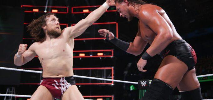 【WWE】ビック・キャス(213cm)と35cm差を跳ね返してダニエル・ブライアン(178cm)が激勝!