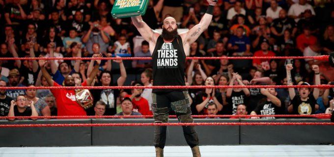 【WWE】マネー権獲得のストローマンがレスナーに宣戦布告