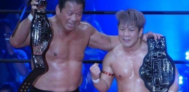 【HEAT-UP】藤波辰爾が6年ぶりにベルトを奪取!防衛戦にレジェンドレスラーへのオファーを約束!
