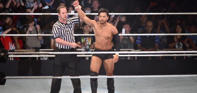 【WWE Live Japan】<2日目>ヒデオ・イタミ、元WWE王者ザ・ミズから価値ある1勝!(6.30両国大会)
