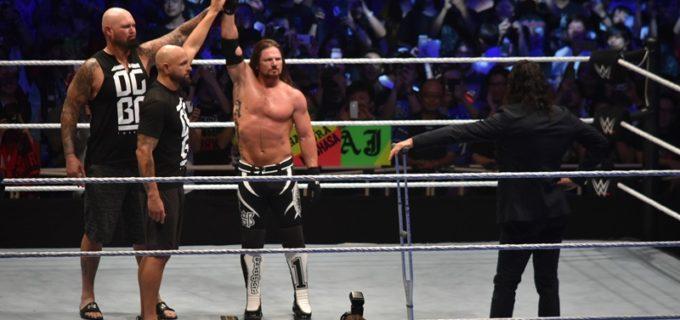 【WWE Live Japan】<2日目>ヒデオ連勝、アスカ反則勝利で王座奪取ならず!メインはトリプルスレッドで中邑が乱入しAJが王座防衛に成功!(6/30両国大会)