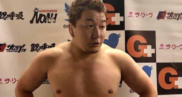 【ノア】熊野「あいつが入団してからずっと負け続けた。でも今日は勝ったんだよ。まだ文句があるんだったら、お前もそこまでの男だってことよ、バカヤロー。あとは王者なり、会社なりが決めてくれ。俺はいつでも戦えるんだバカヤロー。」