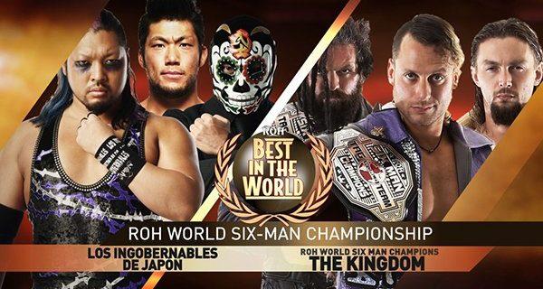 【新日本】現地時間・6月29日、ROHボルチモア大会でEVIL&SANADA&BUSHIがROH世界6人タッグ王座に挑戦! KUSHIDAはジェイ・リーサルと激突!