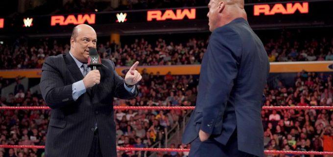 【WWE】代理人ヘイマン、PPV「サマースラム」でレスナーの王座防衛戦を約束