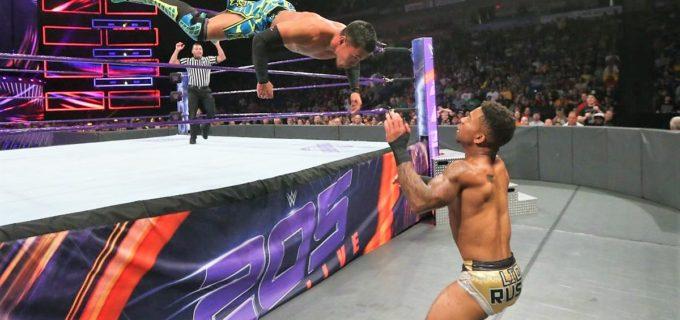 【WWE】戸澤、ラッシュのフロッグ・スプラッシュに沈む