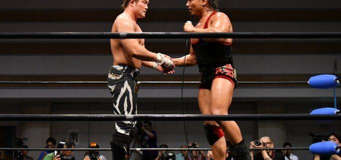 【JWE】あれから17年、KAIと鷹木信悟が約束の一騎打ち!激闘を展開し30分フルタイムドロー!!