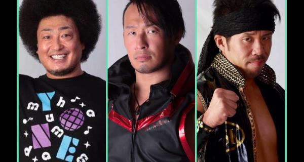 【ノア】8月14日(火)開催『MARUNOUCHI SPORTS FES 2018』に丸藤正道、モハメド ヨネ、大原はじめの3選手が出演!