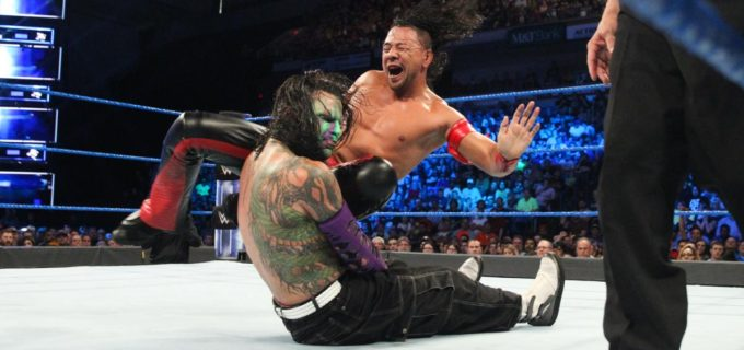【WWE】中邑の王座戦、オートン乱入で大荒れ