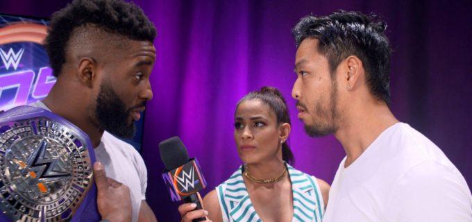【WWE】ヒデオのクルーザー級王座戦が決定!