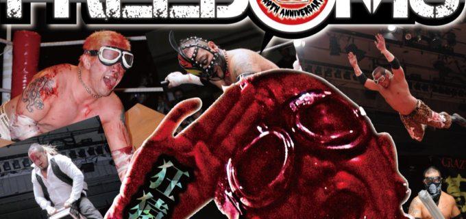 【FREEDOMS】葛西純プロデュース興行、広島大会全対戦カード、8.28(火)後楽園ホール大会一部決定対戦カード情報