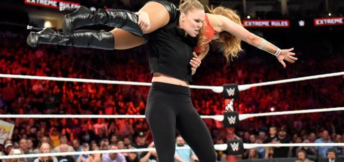 【WWE】ロンダ、王座戦乱入もアレクサ王座防衛