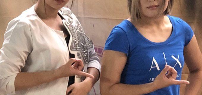 【スターダム】サムライTV「バトル★メン」にQQの桃&小波が生出演!  7月13日(金)22:00〜23:00