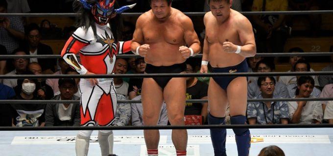 【マスターズ】藤波&佐野&ライガーのレジェンドトリオがサモアン組を撃破!