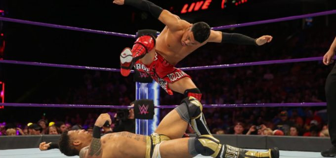 【WWE】戸澤、ラッシュと再戦もフロッグ・スプラッシュで2連敗