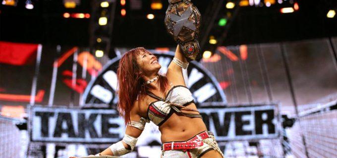【WWE】カイリ・セインがアスカ以来の日本人2人目となるNXT女子王座を初戴冠!