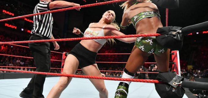 "【WWE】""地球上で最も危険な女""ロンダがロウデビュー戦を激勝"